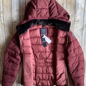 Abercrombie & Fitch Woman's Puffer Coat